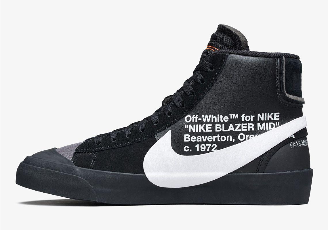 Off White Nike Blazer Grim Reaper + All Hallow's Eve Release
