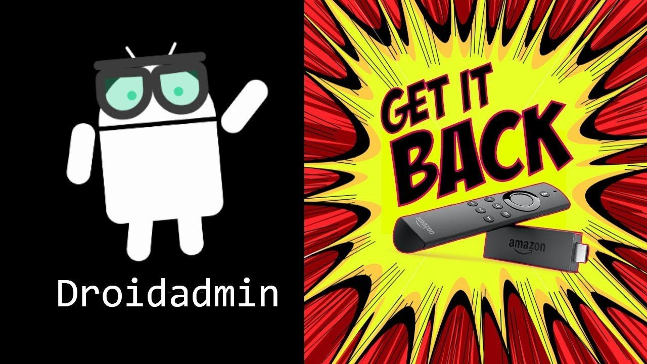 how to download droidadmin on firestick