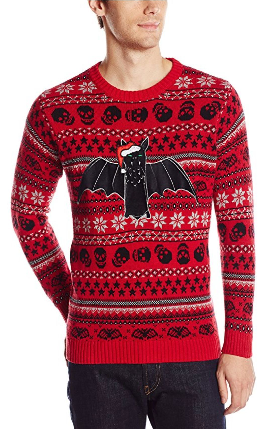 Blizzard Bay Mens Bats Ugly Christmas Sweater Products