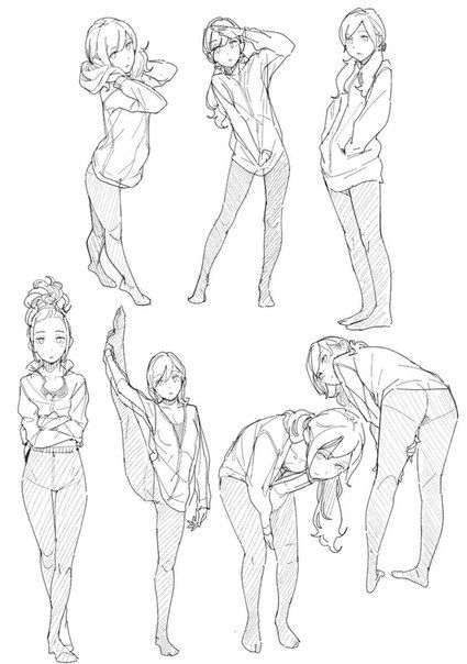 Pin by シノ on お絵描き用資料 | Drawing poses, Art reference poses