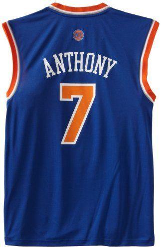 2a288bebe4b NBA New York Knicks Blue Replica Jersey Carmelo Anthony  7 by adidas.   59.99.