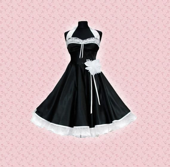 Wedding dress, black petticoat, confirmation dress