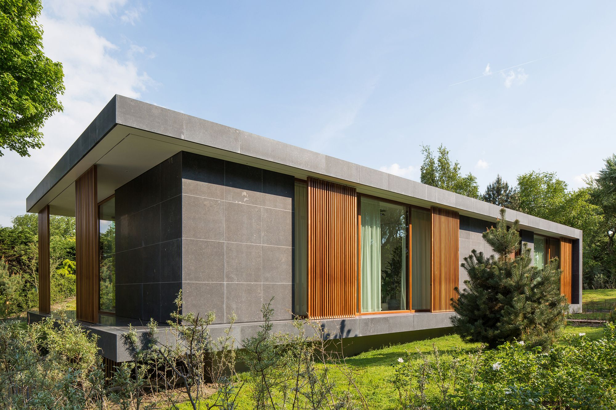 Moderne villa in de duinen moderne huizen in 2019 for Moderne villa architectuur