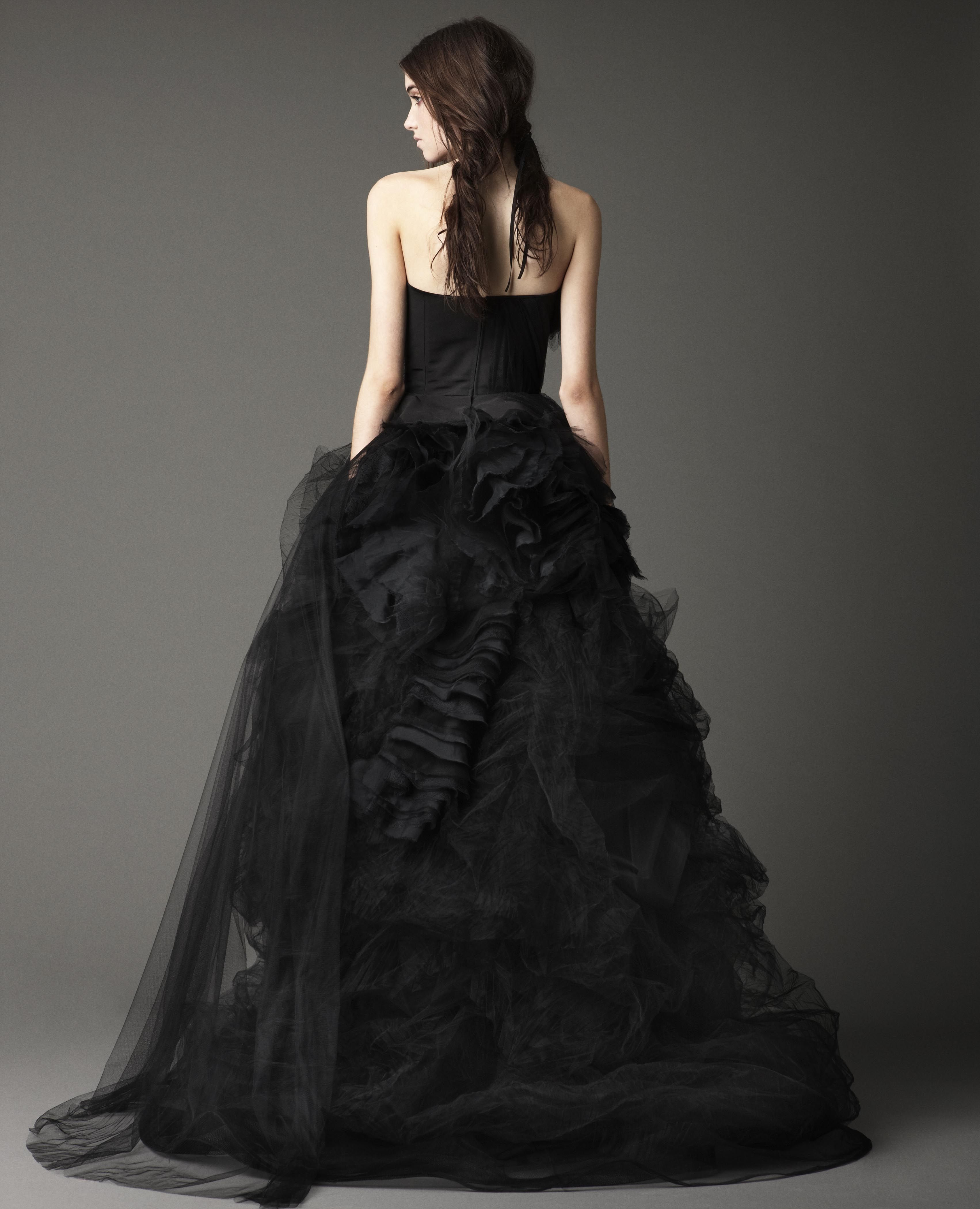 young-black-wedding-dress-pictures