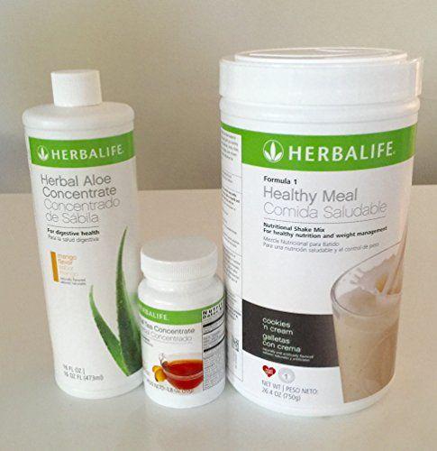 Herbalife Aloe Tea Shake Kit Herbal Aloe Mango Herbal Tea Concentrate Formula 1 Cookies Cream Shake Yo Herbal Tea Concentrate Herbalife Aloe Herbalife