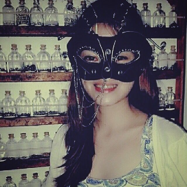 Handmade Mask by OldTokador. Miss our Bonding Moments sis racquelsanchez at your Creative Workspace!