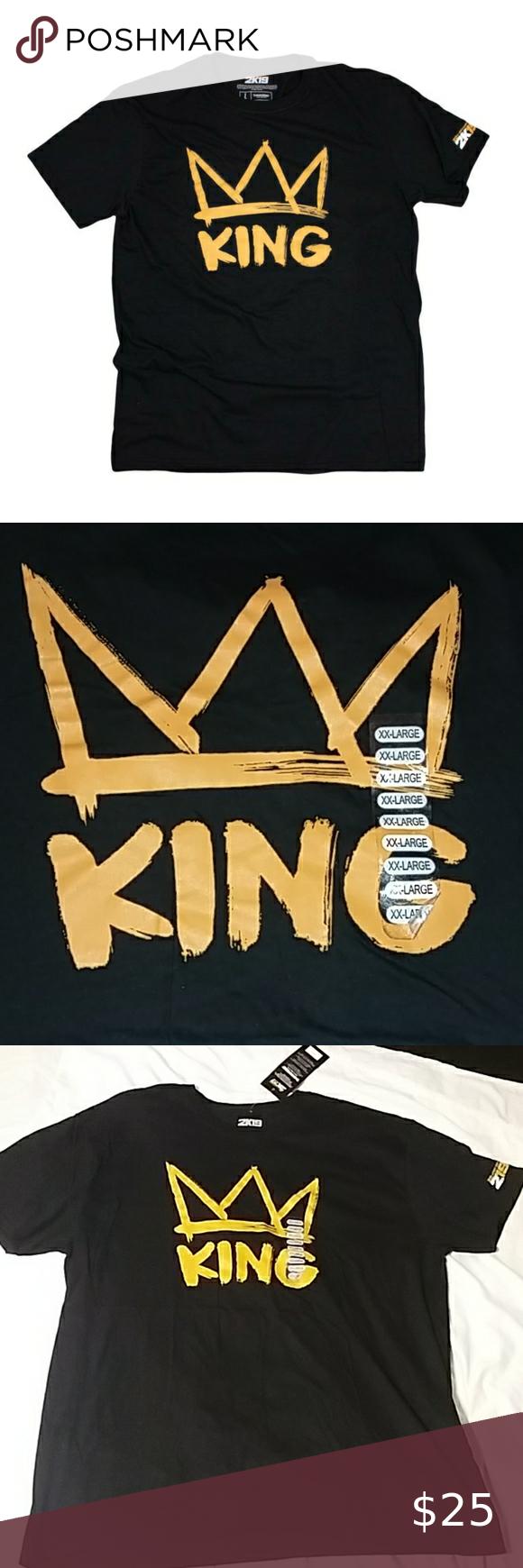 Nba 2k19 Crown King T Shirt Geek Shirts King Tshirt Shirts