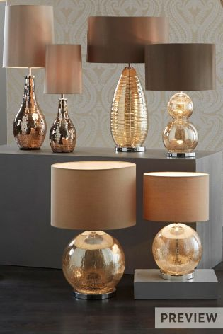 Buy mink crackle table lamp from the next uk online shop home deco buy mink crackle table lamp from the next uk online shop aloadofball Image collections