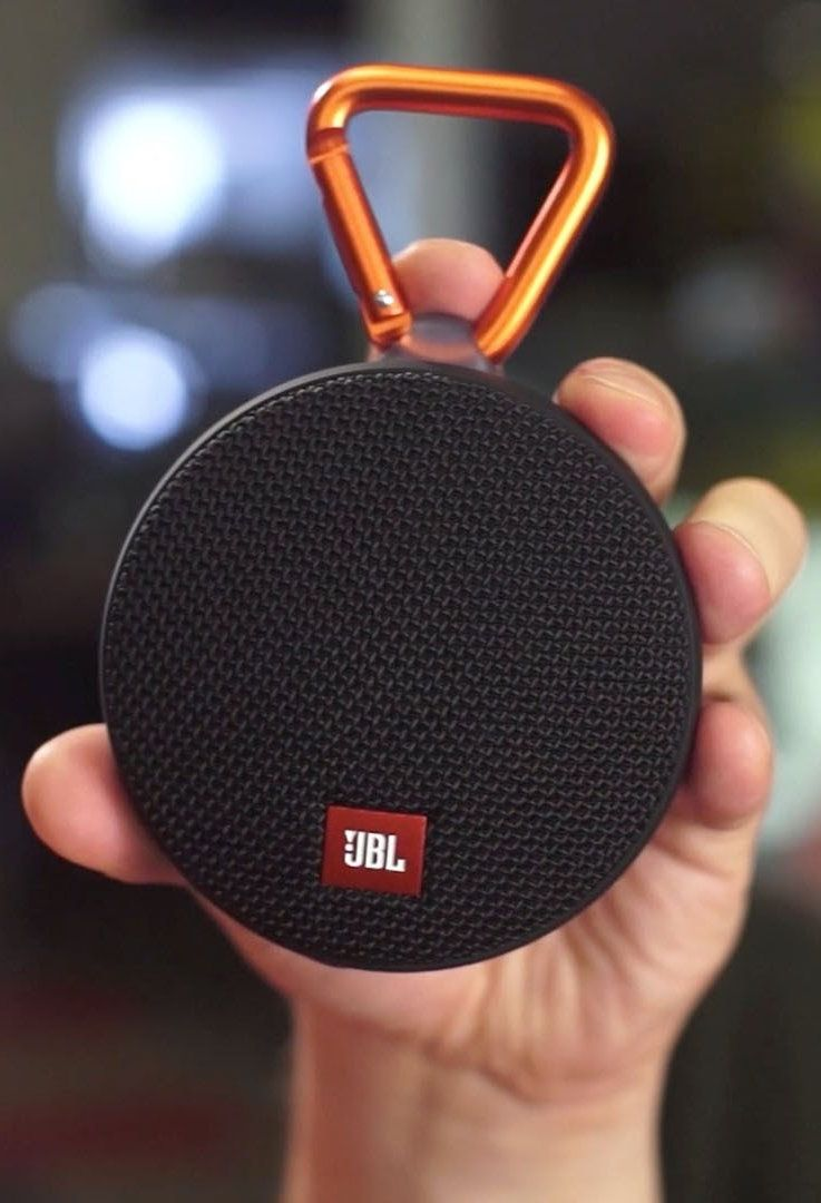 The JBL Clip 2 is a budget-friendly Bluetooth speaker that delivers solid  audio performance in a supremely portable 5f490a85766f6