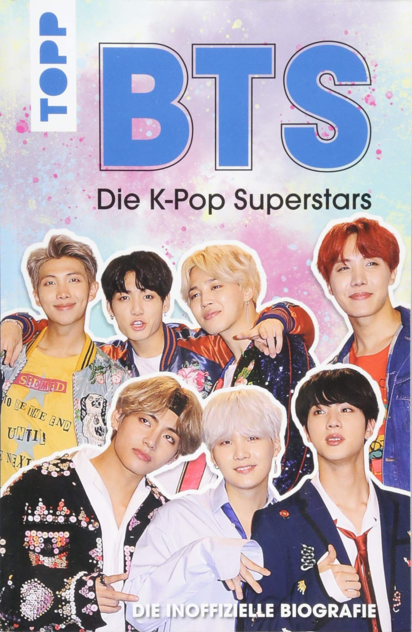 Bts Die K Pop Superstars Deutsche Ausgabe Die Inoffizielle Biografie Amazon Co Uk Adrian Besley 9783772484353 Books Superstar Bts Beautiful Kpop