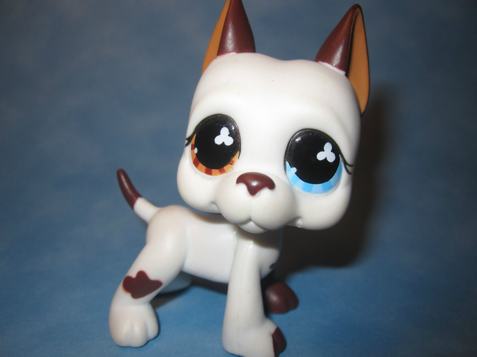 4x Littlest Pet Shop Lps Great Dane Dog 577 750 1688 1647 Very