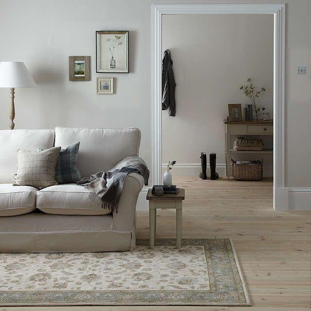 buyjohn lewis woburn ziegler rug ivory blue l180 x w120cm online