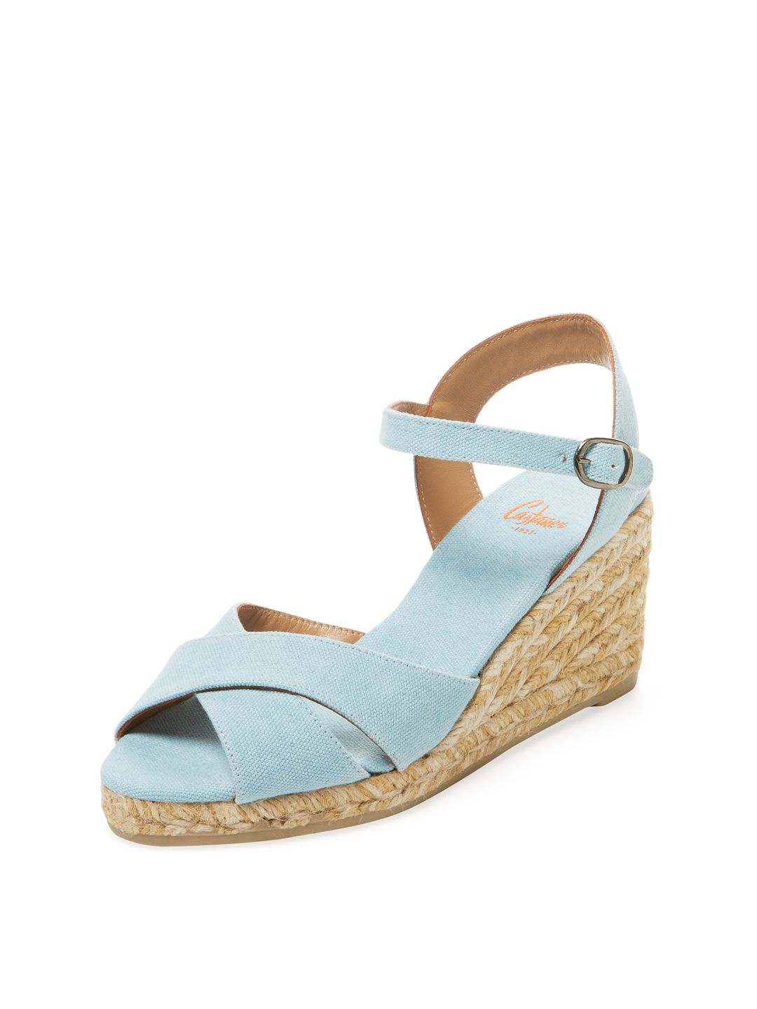 Castaner Blaudell Cross Strap Espadrille Wedge (Women's)