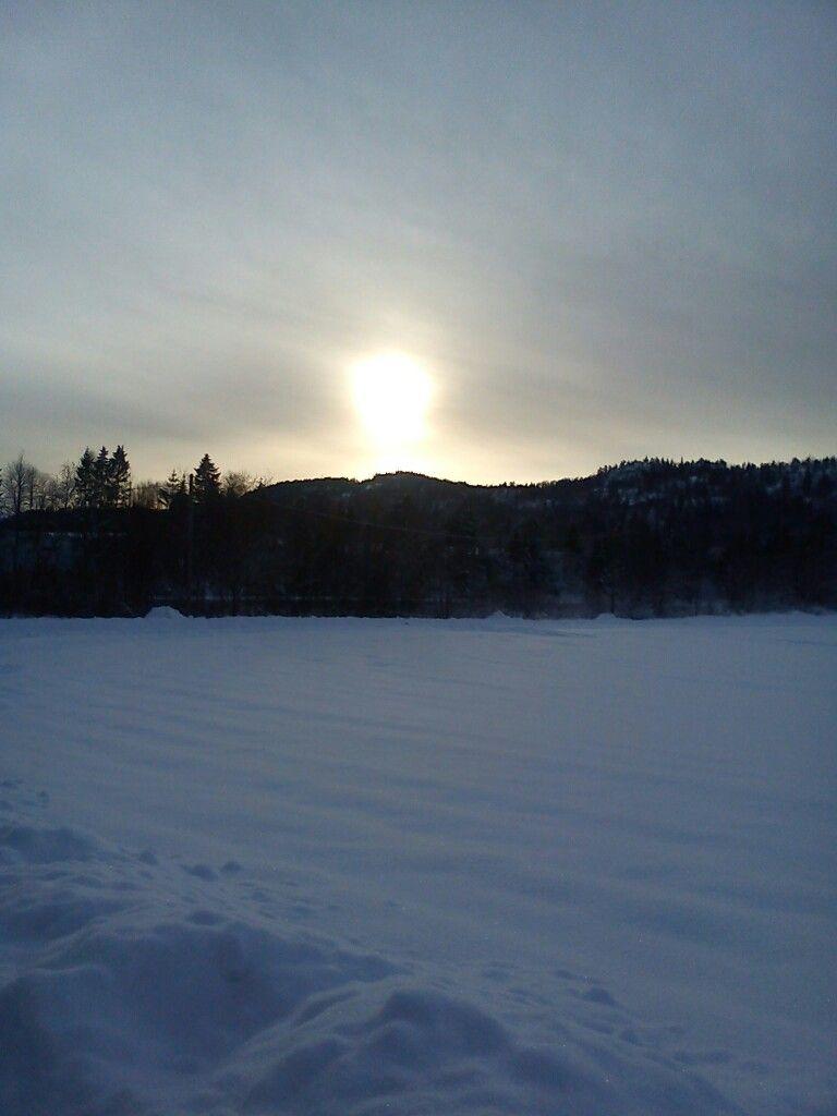 Fin vinter-ettermiddag