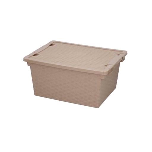 Aufbewahrungsbox Mit Deckel Mocca Rattan Optik Aufbewahrungsbox Aufbewahrungsbox Mit Deckel Aufbewahrung