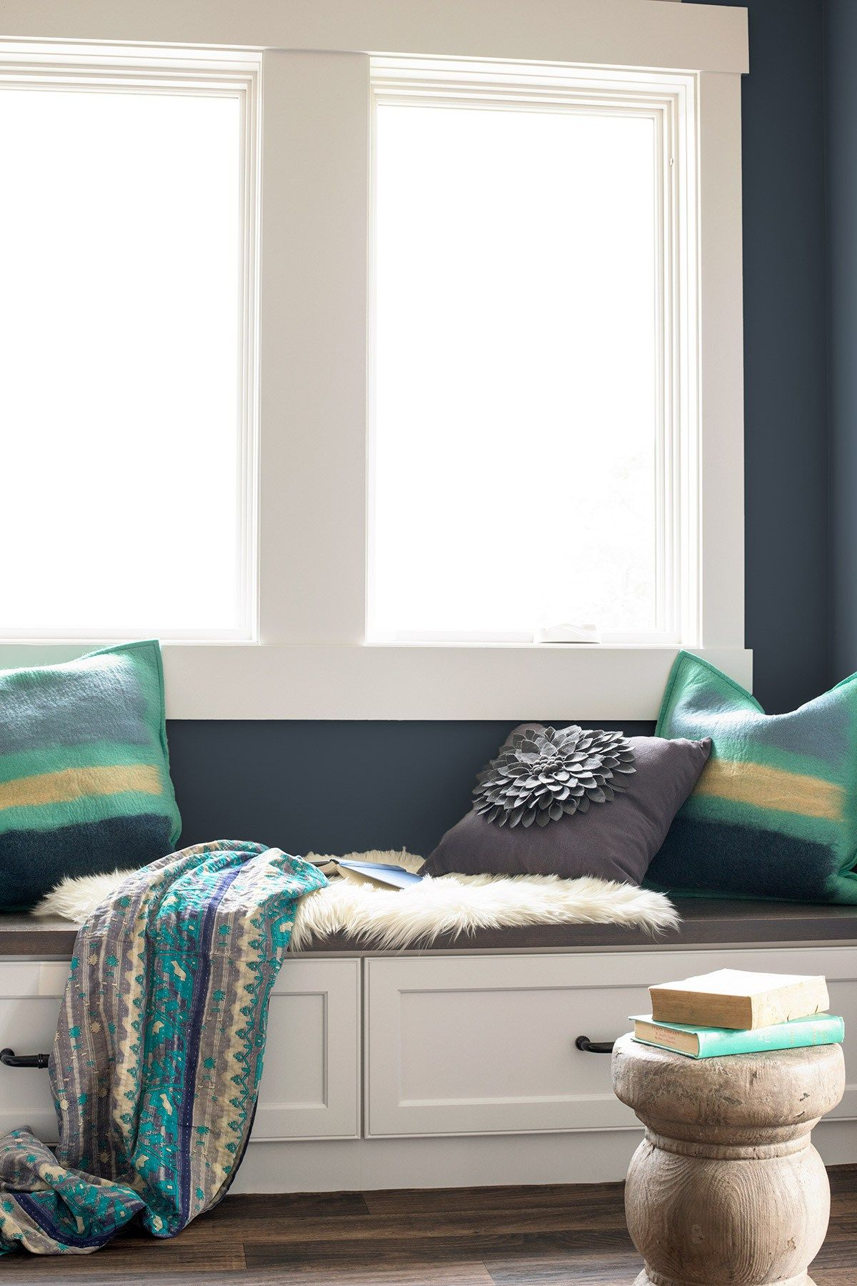 Yes! Your Wall Color Does Make a Difference | Color walls, Indigo ...