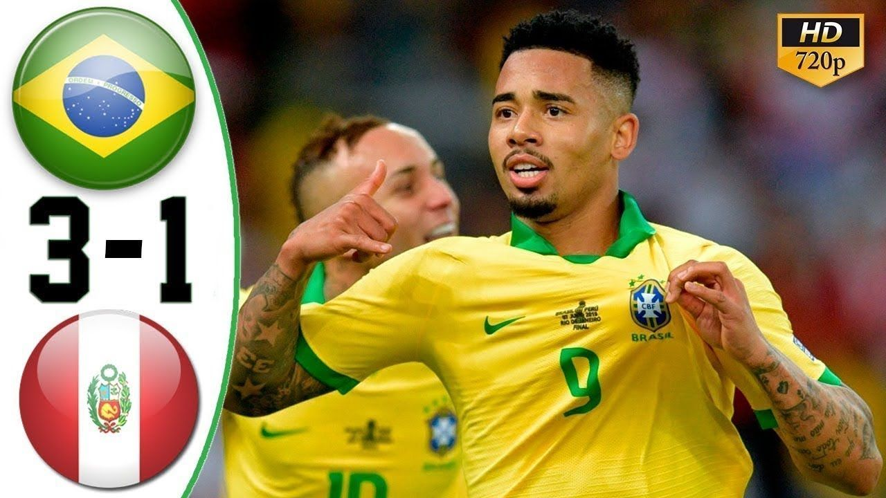 Brazil vs Peru 31 Highlights 8th July 2019 HD COPA