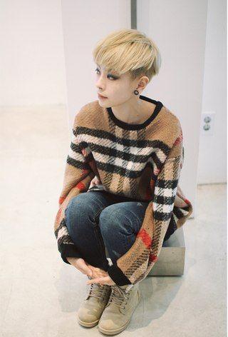 Han Hyeyeon | Asian tomboys | Pinterest | Tomboy, Ulzzang and ...