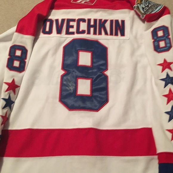 Signed Ovechkin Jersey Jersey Nhl Jerseys Clothes Design