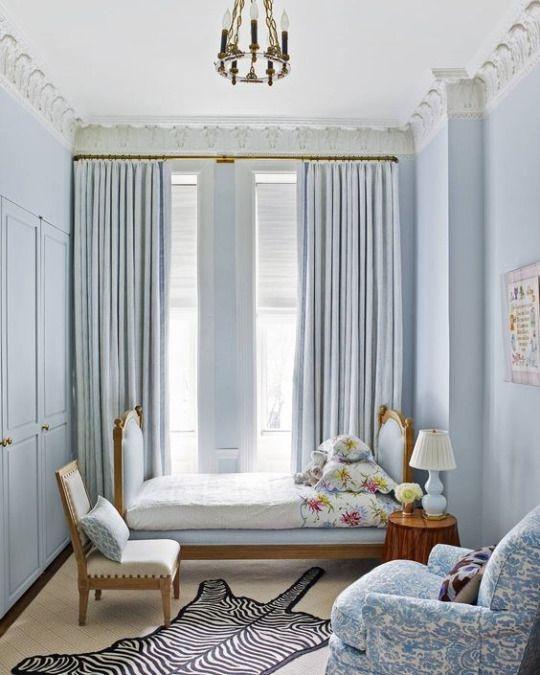 Beautiful Blue Bedrooms: Cece Barfield Thompson Via House Beautiful