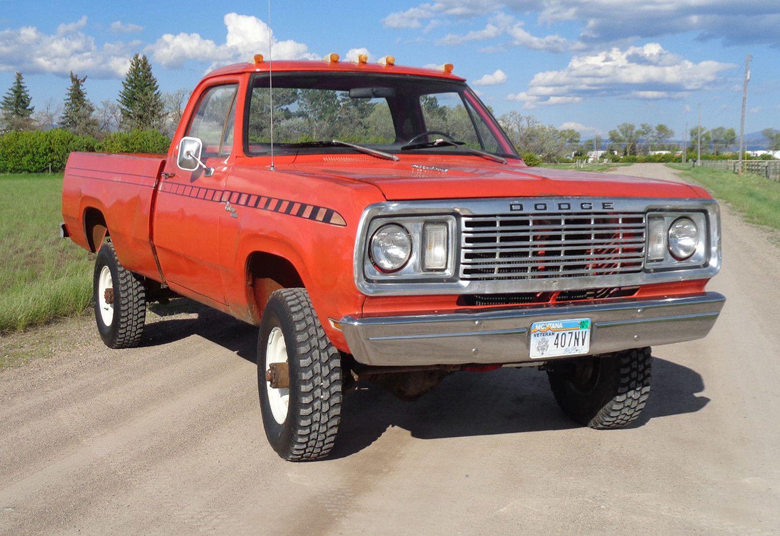 Sno-Commander: 1977 Dodge Power Wagon | Old dodge trucks ...