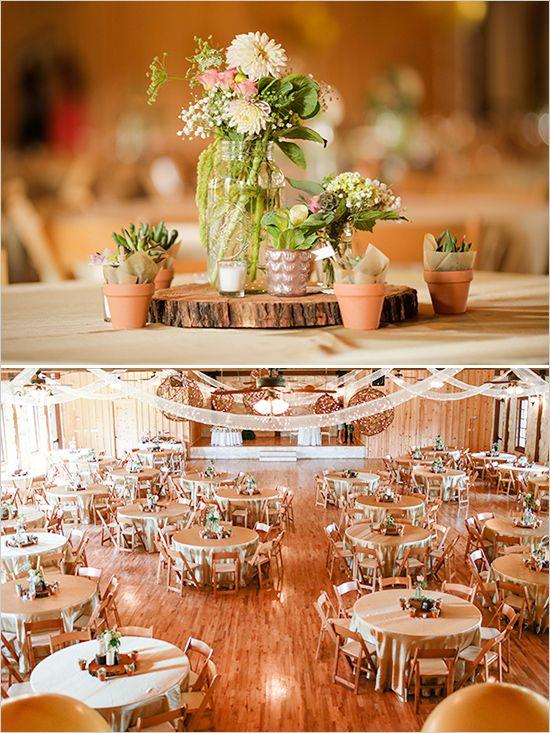 succulent wedding ideas http://www.weddingchicks.com/2013/11/21/mint-and-gold-wedding/