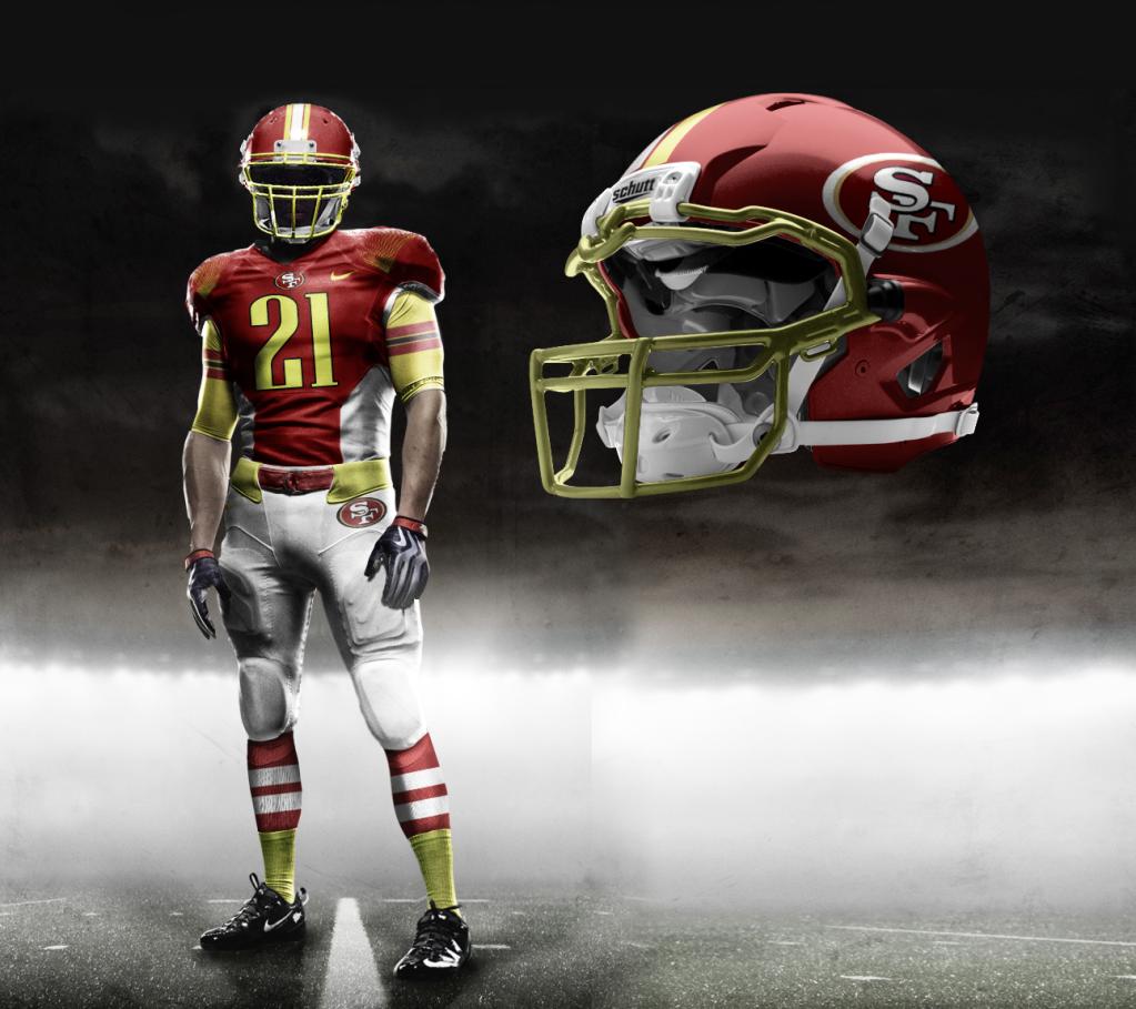 7a0cffa9e San Francisco 49ers Dallas Cowboys Uniforms