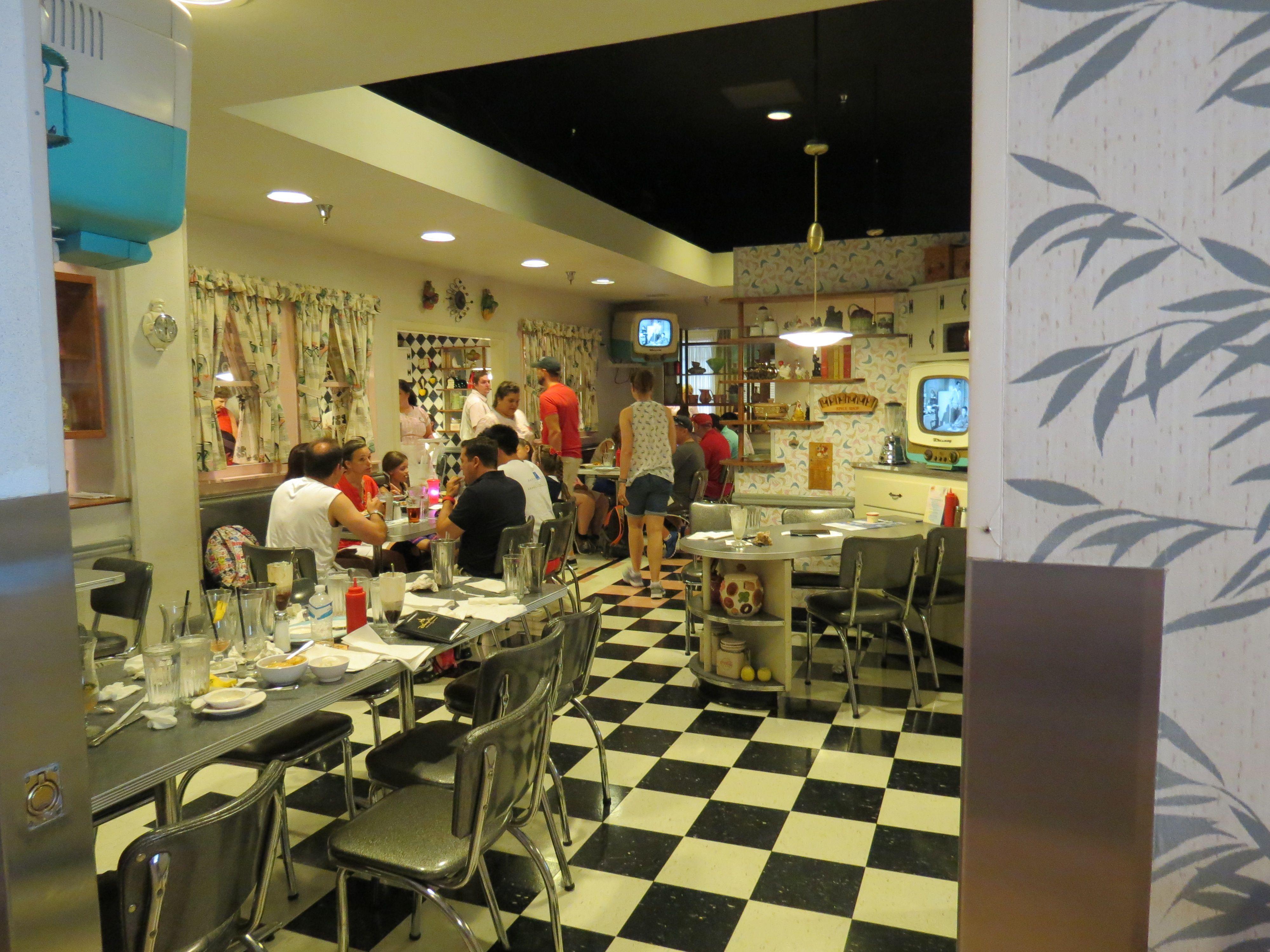 50's prime time diner