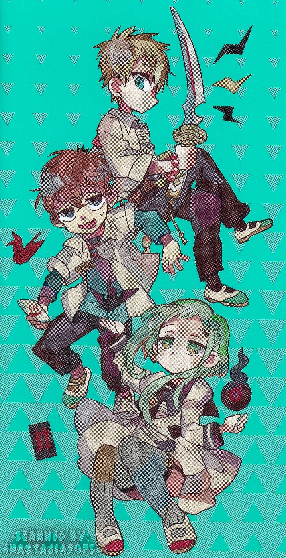 Ghim của Joodi_bk trên Hanako kun trong 2020 Anime, Nghệ
