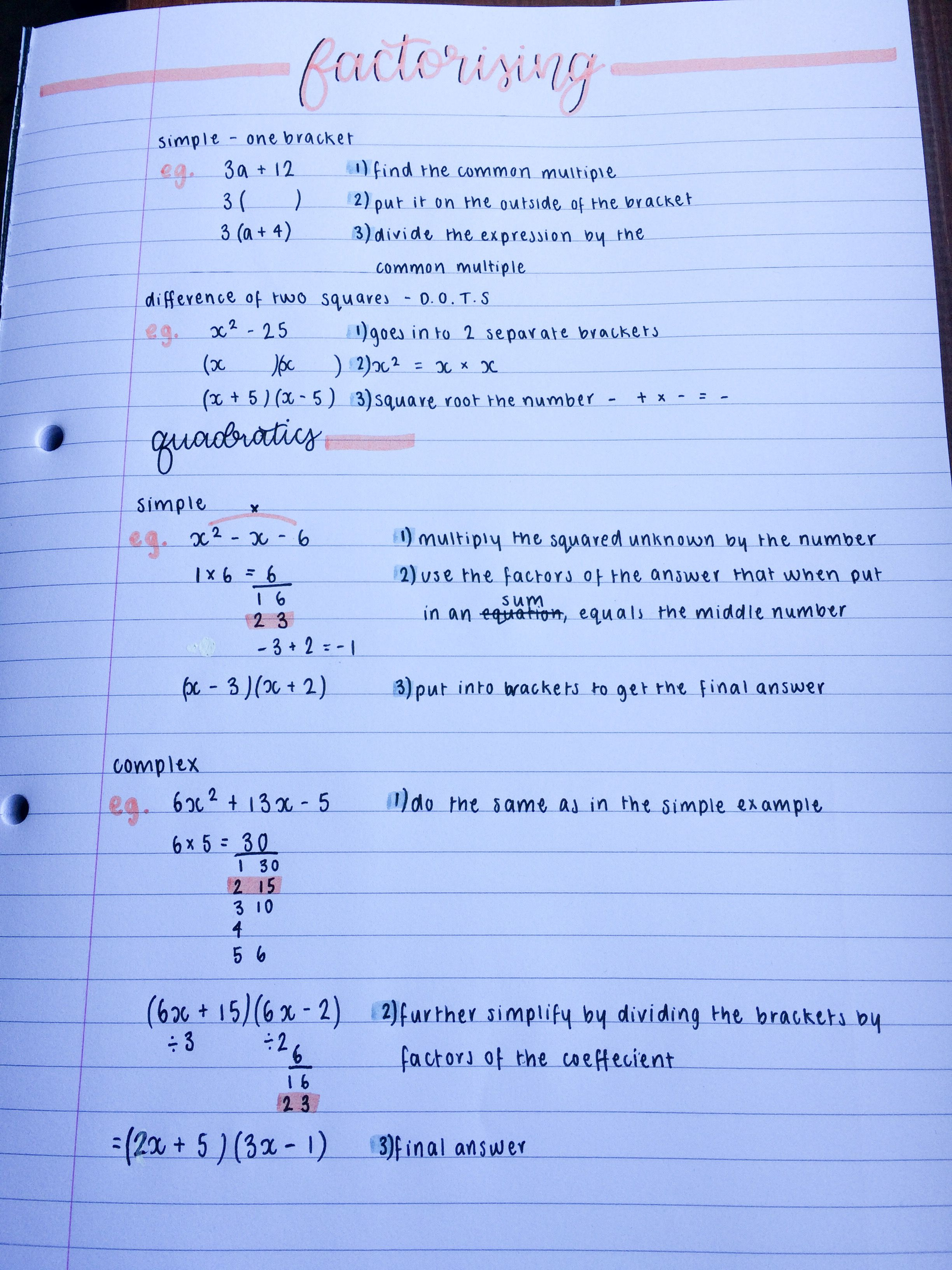 Math 1050 (College Algebra) Lecture Videos