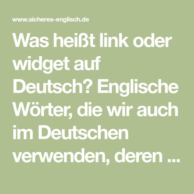 Was HeiГџt Does Auf Deutsch