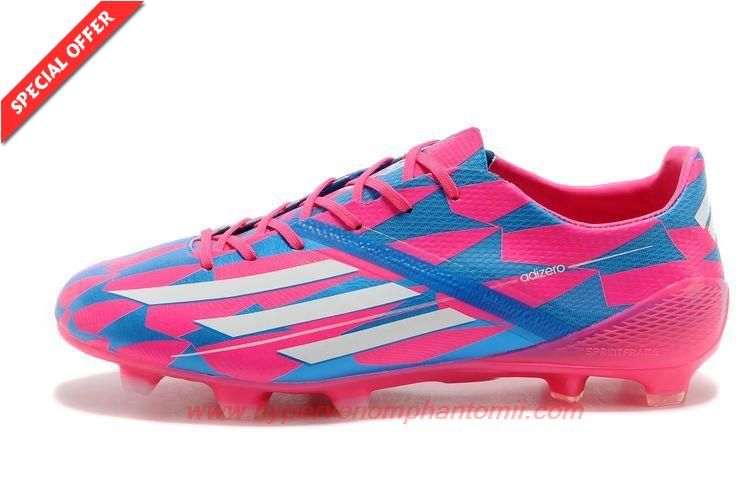 51a3f9a6f0d0 PINK/BLUE/WHITE Leo Messi ADIDAS ADIZERO F50 FG Outlet USA ...