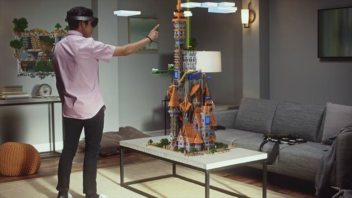 5adf8bcc00d9e Microsoft brings augmentedreality into everyday life through HoloLens.