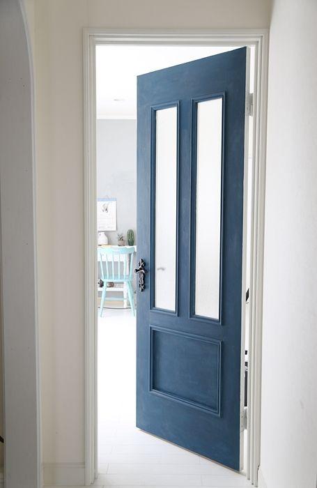 自宅diy ドアの表裏の色を変えて の画像 大阪 フォトスタイリスト吉田タマエの大人可愛いインテリアフォトスタイリ ドア 自宅 玄関ドア
