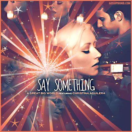 Say Something Christina Aguilera Mariah Say Something