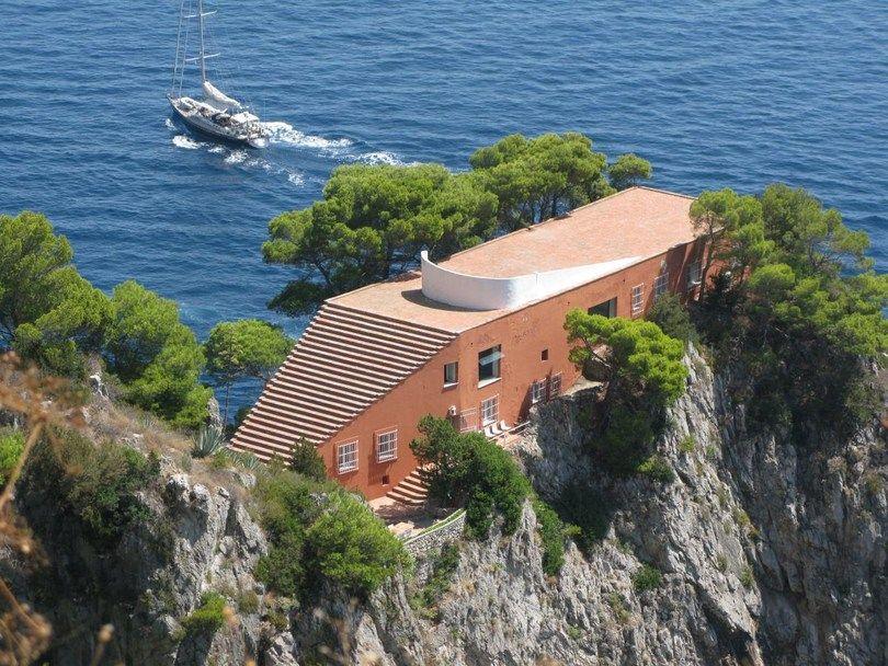 Casa Malaparte Villa Malaparte, Capri Italy Adalberto