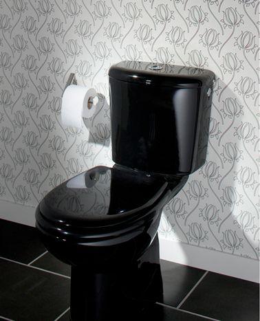 La Déco Des Wc Noir Et Blanc, Osez C'Est Chic ! | Room