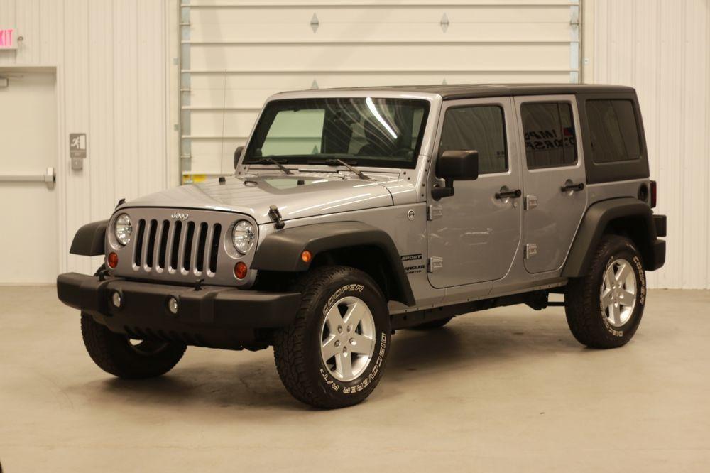 eBay 2013 Jeep Wrangler Unlimited Sport Sport Utility 4