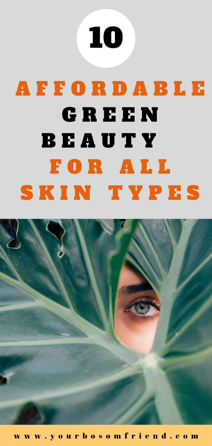 10 Affordable Organic & Nontoxic beauty brands you should