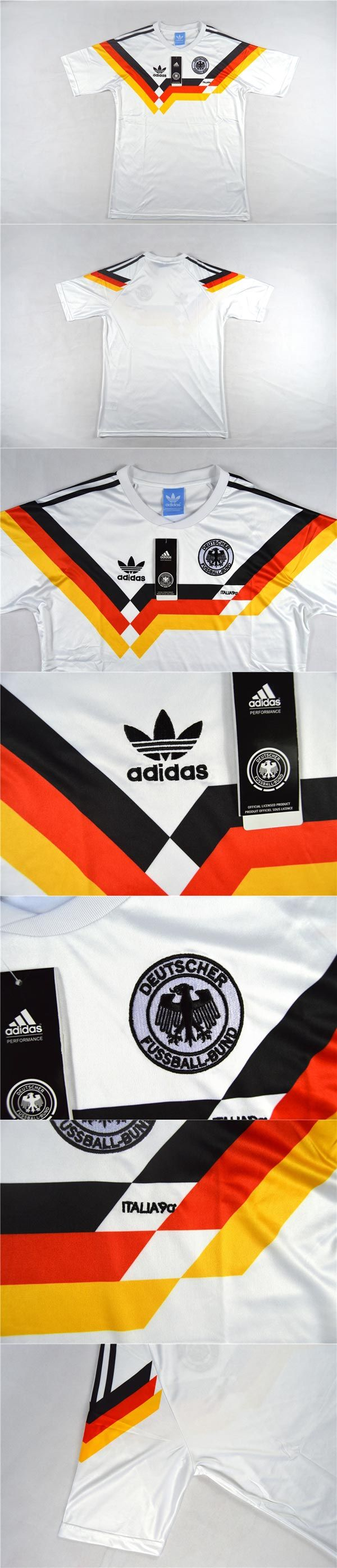 08392382c 1990 #WestGermany #Retro Home #Soccer #Jersey #Shirt, #germany , #cheap  soccer jerseys #onlinemarketing #store #buying available