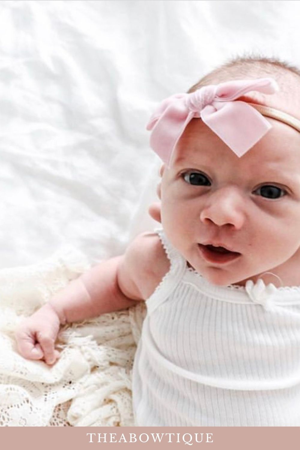 Baby girl gift Details about  /Blue Cotton Baby Girl Knot Headband Girl Bows hairbows New
