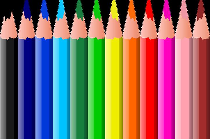Картинка цветная карандашом
