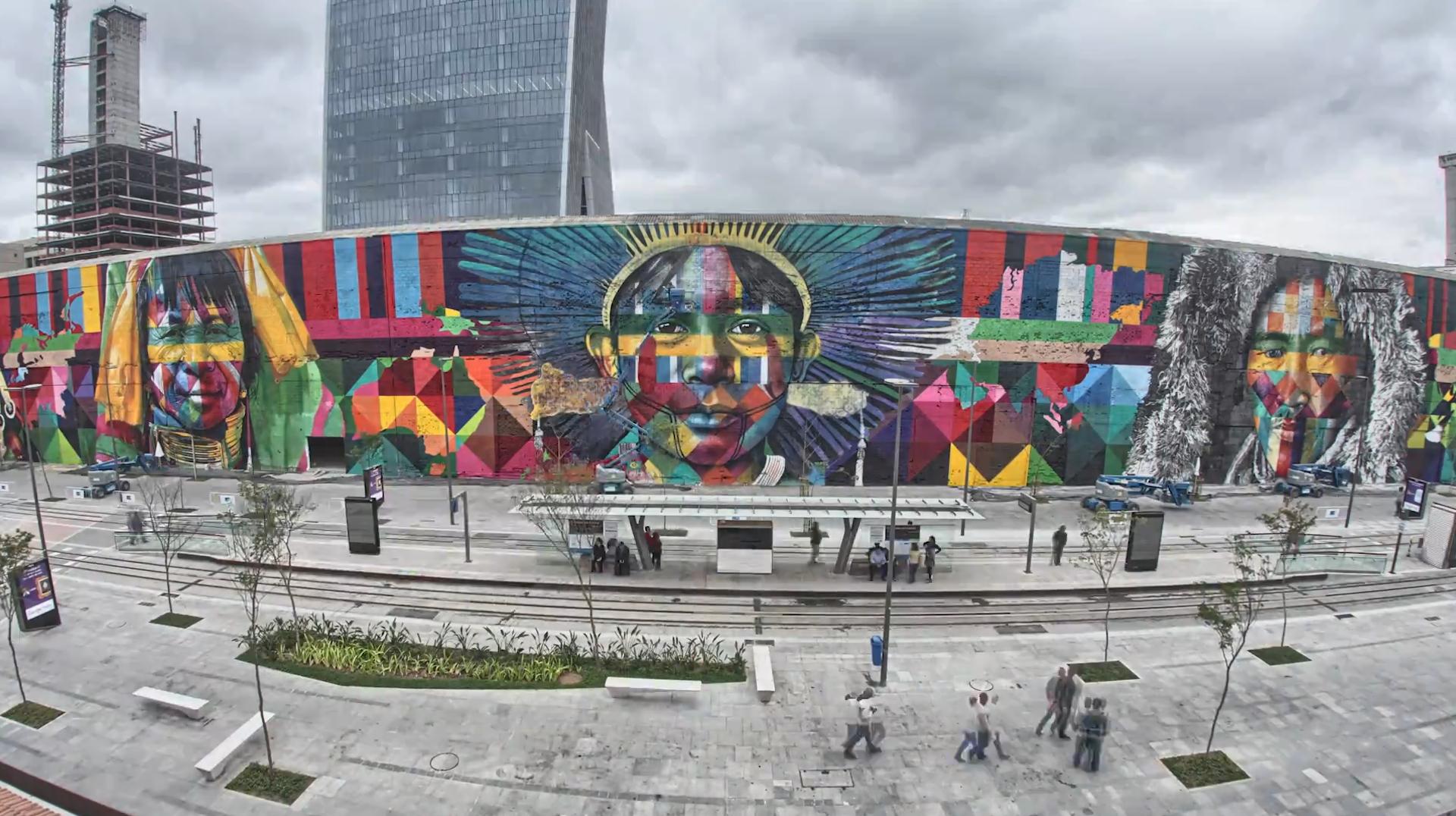 Eduardo Kobra 2016 Rio De Janeiro Brazil