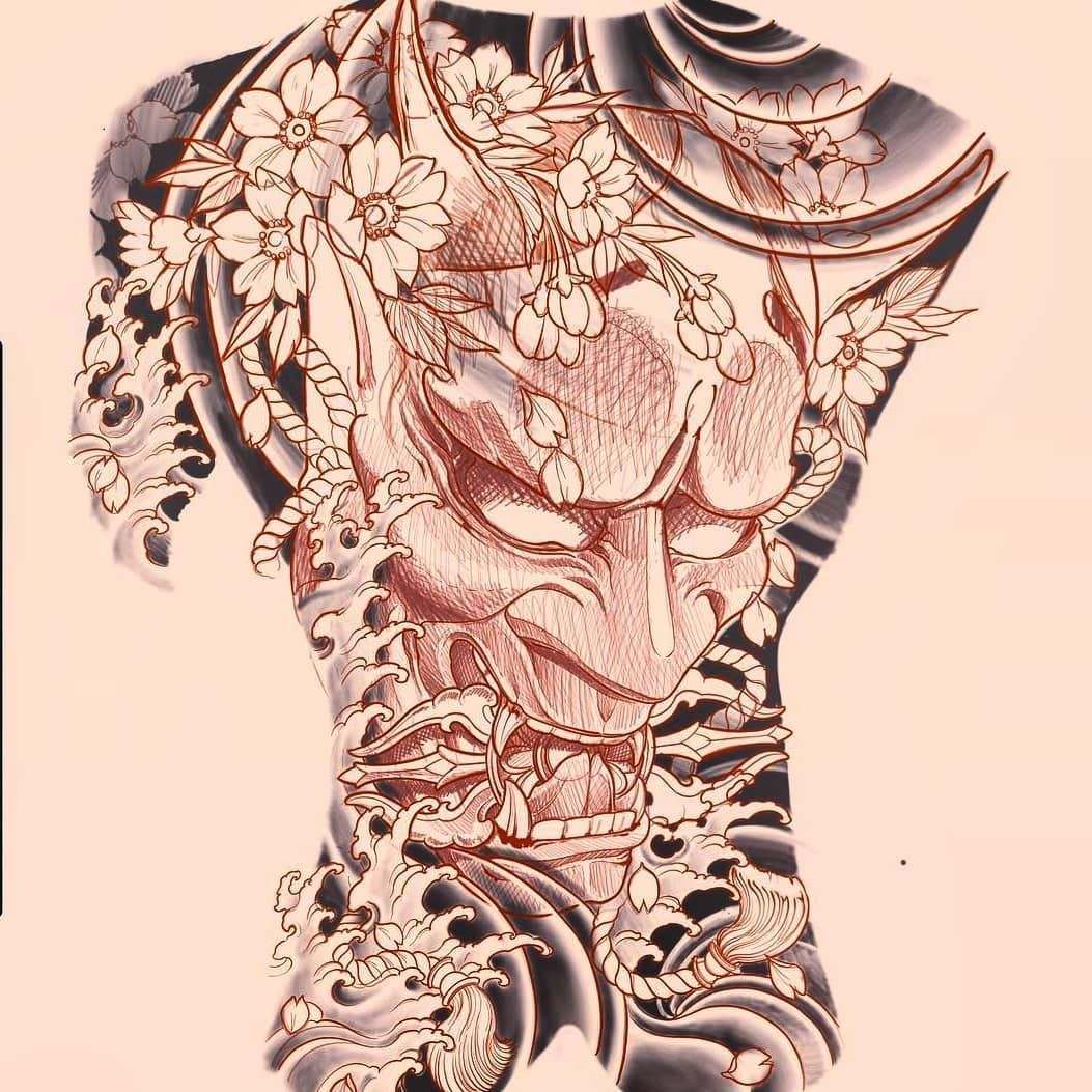 2 923 Lượt Thich 14 Binh Luận Asian Inkspiration Asian Inkspiration Tren Instagram Hannya Design By Japanese Tattoo Tattoos Japanese Sleeve Tattoos