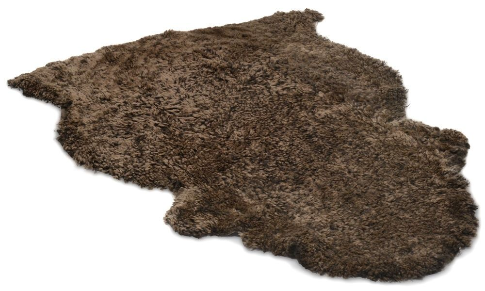 Lammskinn - brons lockigt