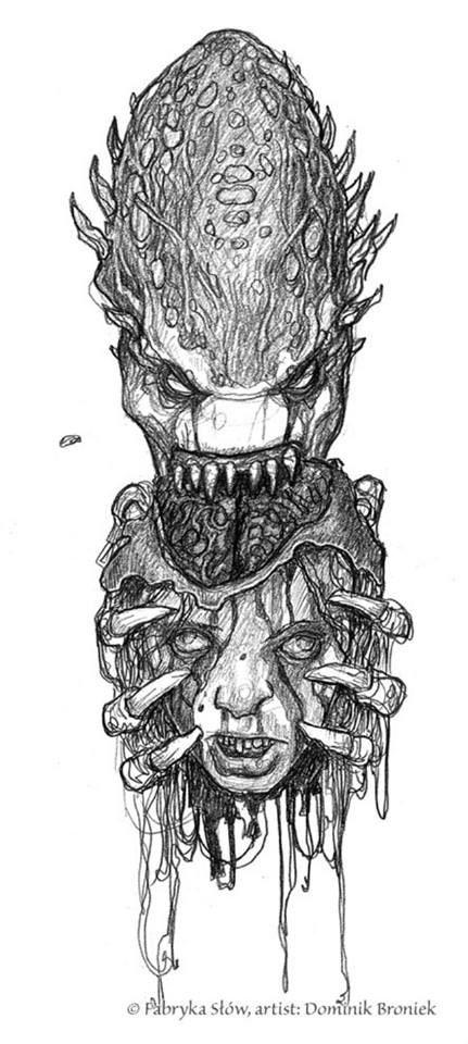 Mind demon eating brain
