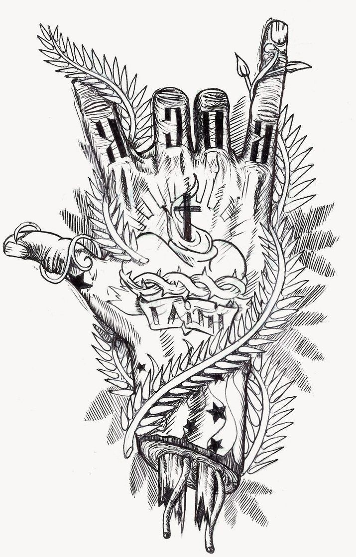 Sketch Style Tattoo Sleeve: Half Sleeve Tattoo Designs Drawings Sketch Coloring Page