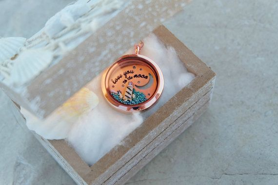 Joyas de oro collar de oro rosa color de rosa por Maristella890