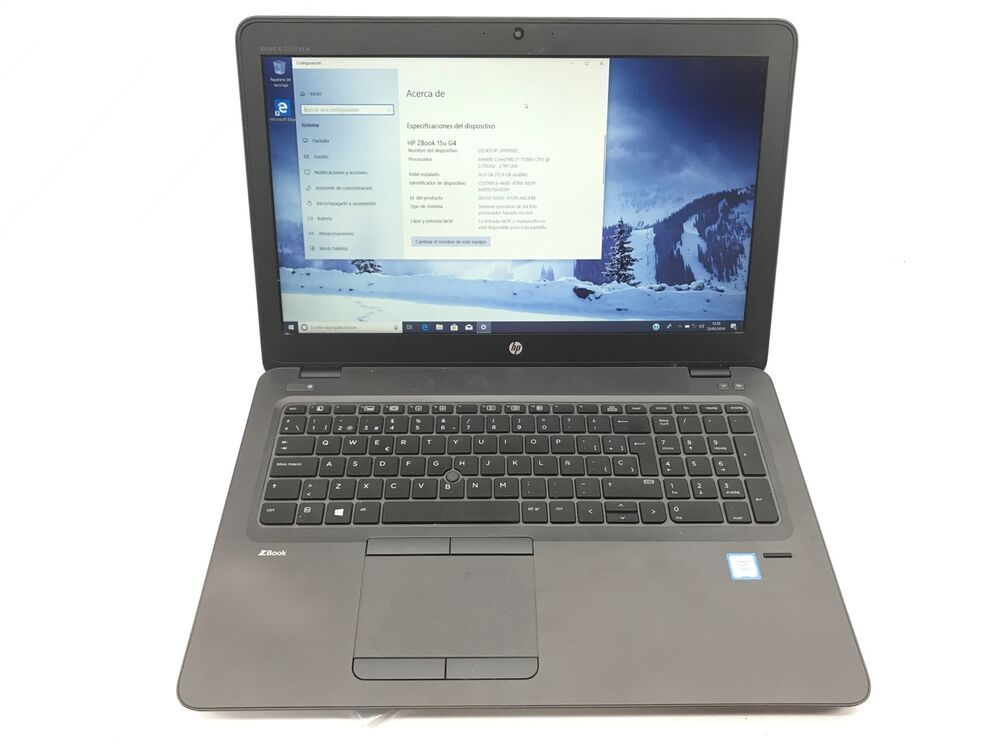 Portatil Hp Zbook 15u G4 Intel Core I5 6aº Generacian 8 Gb Hdd
