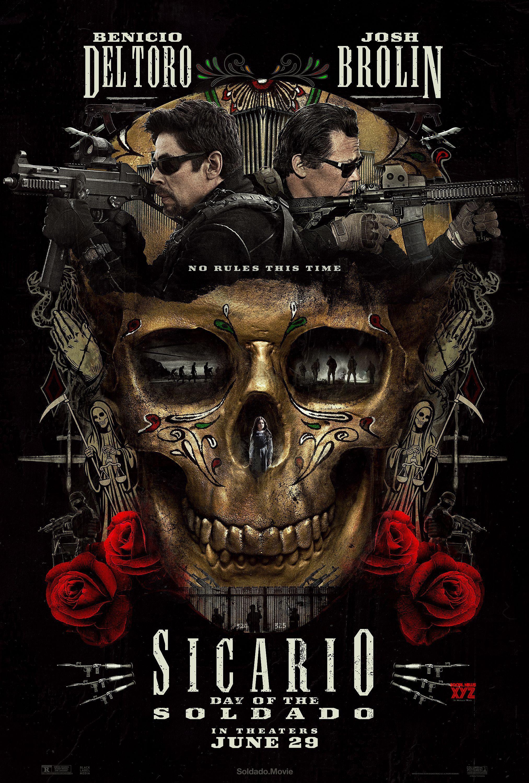 Sicario 2: Day of the Soldado Movie Poster | Lights Camera Action ...